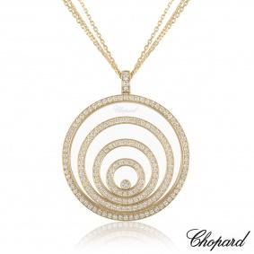 ChopardYellow Gold Happy Spirit Diamond Pendant 79/5430/0-20